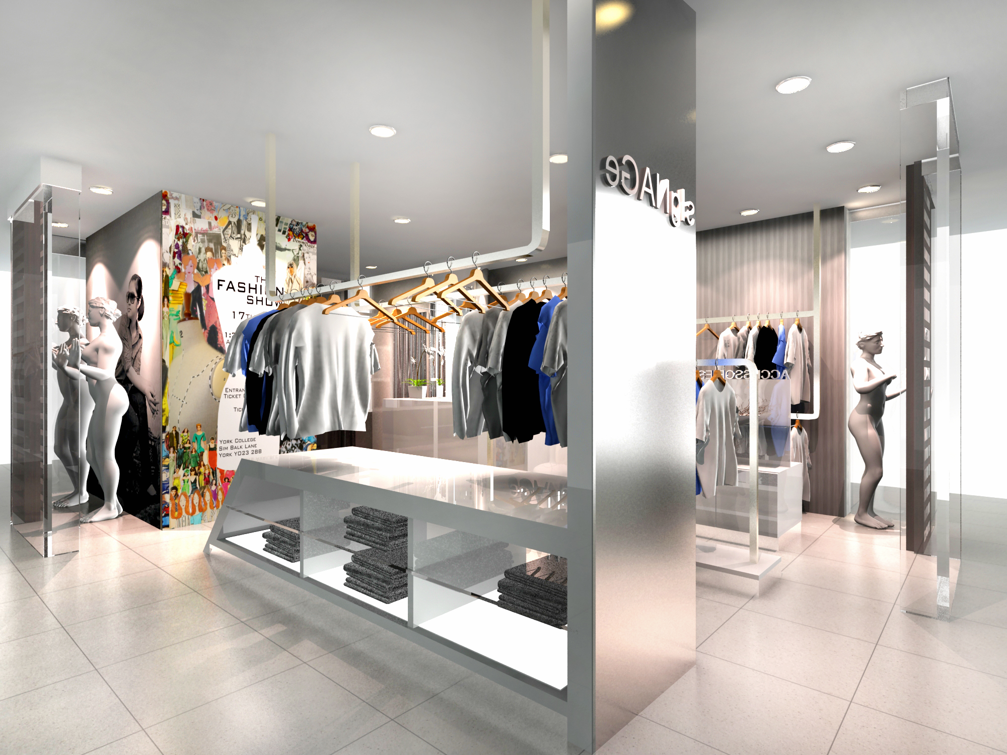 Merveilleux Design An Attractive Retail Store